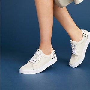 Calf hair star sneakers